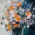 Flower Field by Sorin Apostolescu