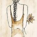 Flower Girl 3 by Anne Costello