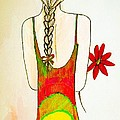 Flower Girl by Anne Costello