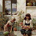 Flower Girls by William Stephen Coleman