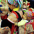 Flower Hmong Baby 03 by Rick Piper Photography