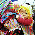 Flower Hmong Baby 04 by Rick Piper Photography