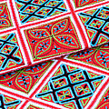 Flower Hmong Embroidery 02 by Rick Piper Photography