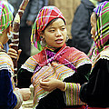 Flower Hmong Women by Rick Piper Photography