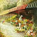 Flower Market by Madeleine Holzberg