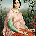 Flower Of The Fields by Louis Janmot