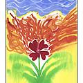 flower on Fire by Matt Curry