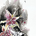 Flower Orchid 12 Elena Yakubovich by Elena Yakubovich