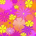 Flower Power Pastels Design by Candy Frangella