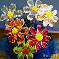 Flower Power Still Life by Nina Silver
