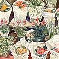 Flower Shop Watercolor by Alfred Ng