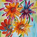 Flower Splash by Elaine Duras