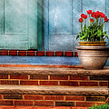 Flower - Tulip - A Pot Of Tulips by Mike Savad