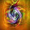 Flower Twist by Visual Artist Frank Bonilla