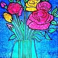 Flower Vase by Dye n  Design