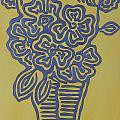 Flower Vase by Solongo Ochirbal