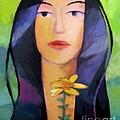 Flower Woman by Lutz Baar