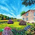 Flowered Garden by MGL Meiklejohn Graphics Licensing