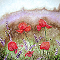 Flowering Field by Lisa Stanley