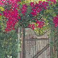 Flowering Gateway by Ginny Neece