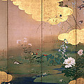 Flowers And Birds Of The Four Seasons by Shibata Zeshin