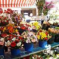 Flowers At The Market by Carolyn Jones