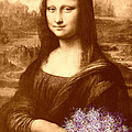 Flowers For Mona Lisa by Georgeta  Blanaru