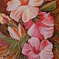 Flowers II by Silvana Abel