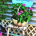 Flowers In A Basket by Smilin Eyes  Treasures