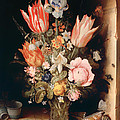 Flowers In A Vase by Mountain Dreams