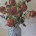 Flowers In A Vase by Pamela Walton