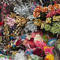 Flowers In Florist by Oscar Hurtado
