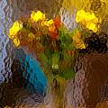 Flowers In Vase - Still Life by Frank Tozier
