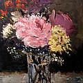 Flowers In Vase by George Turner