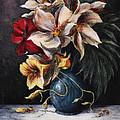 Flowers In Vase by Rita Miller
