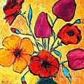 Flowers Of Love by Ana Maria Edulescu