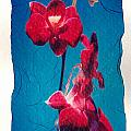 Flowers On Watercolor Paper by Corey Hochachka