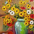 Flowers - Still Life by Daliana Pacuraru