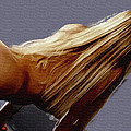 Flowing Blonde by Wayne Bonney