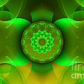 Flowing Green by Hanza Turgul