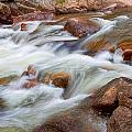 Flowing St Vrian Creek   by James BO  Insogna