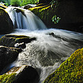 Flowing Stream by Kevin Cable