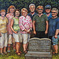 Floyd Family Cousin's Portrait by Karen Nell McKean