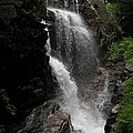 Flume Gorge Waterfall Nh by Christiane Schulze Art And Photography