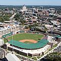 Fluor Field At The West End Greenville by Bill Cobb