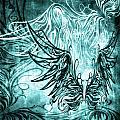Fly Away Gothic Aqua by Angelina Vick