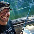 Fly Fishing Emerald Lake, Weminuche by Jeremy Wade Shockley