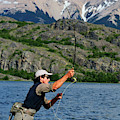Fly Fishing In Patagonia by Beck Photography