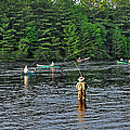 Fly Fishing West Penobscot River Maine by Glenn Gordon