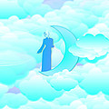 Fly In The Sky by Islamic Cards